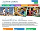 Non-profit website design client, Lubec Community Outreach Center