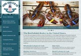 Website design client, Look Lobster Co.